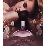 CALVIN KLEIN Euphoria BLOSSOM edt 100 ml  туалетная вода женская (оригинал подлинник  Франция), фото 2
