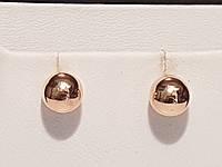 Золотые серьги-пуссеты. Артикул СП941И