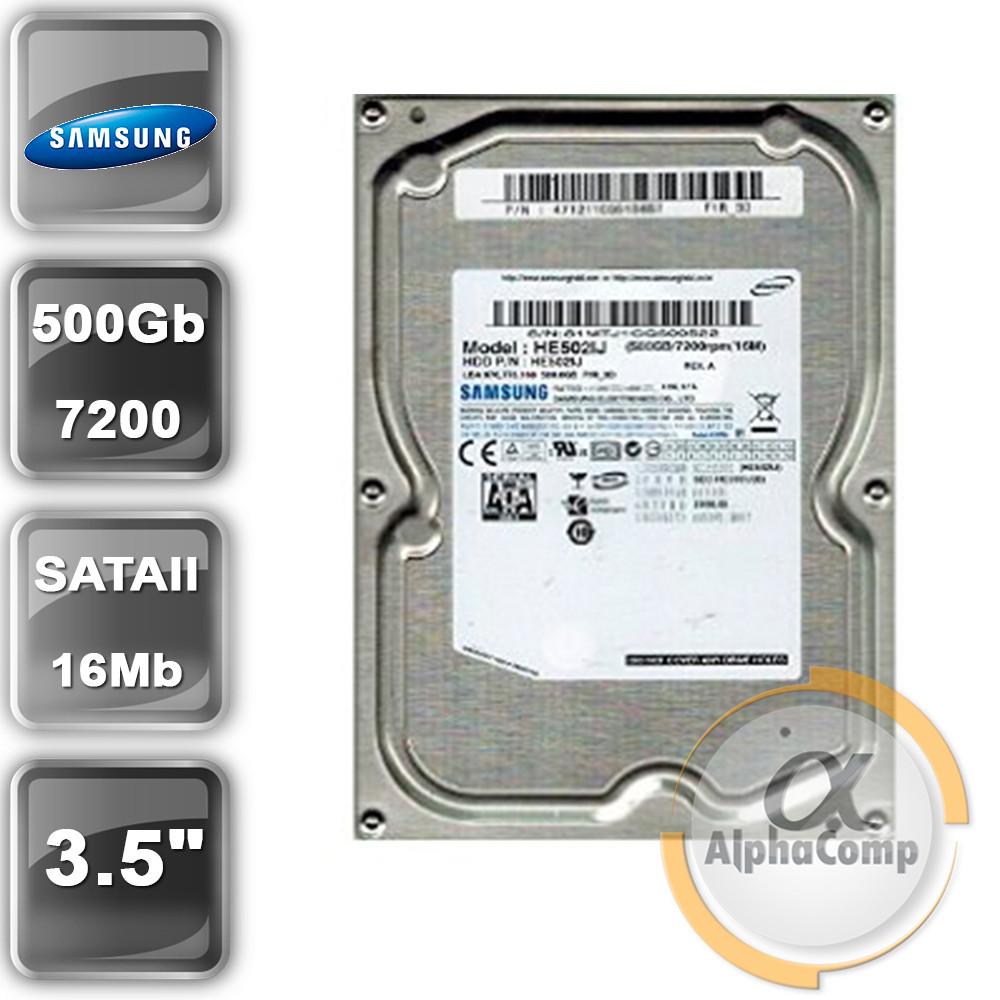 "Жесткий диск 3.5"" 500Gb Samsung HE502IJ (16Mb/7200/SATAII) БУ"
