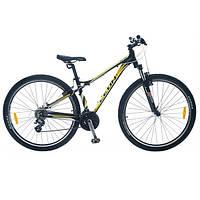 "Велосипед SKD 29"" LEON TN 85 AM рама-16"" черно-желтый 2014"