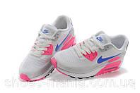 Женские кроссовки Nike Air Max 90 Lunar grey-pink