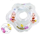 Круг для купания младенца KinderenOK -Капелька прозрачный