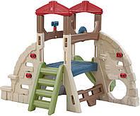 """Детский игровой комплекс """"Скала"""" Step2 - CША - есть телескоп и штурвал"""