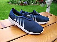 Женские кроссовки текстиль синие р 36-38