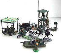 Военные фигурки, 4в1 Военная серия Vietnam War военный конструктор , аналог лего, BrickArms
