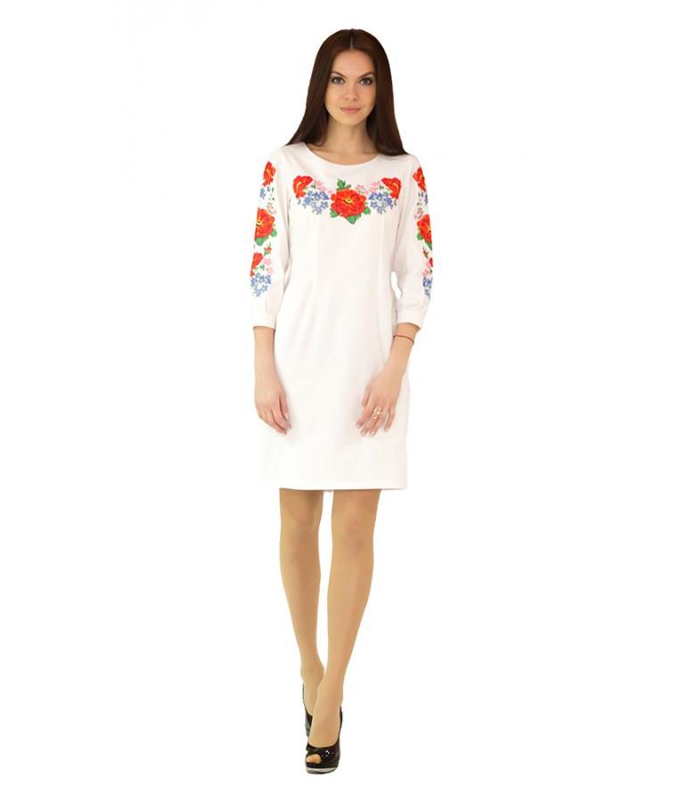 Біла сукня вишита хрестиком. Плаття вишите хрестиком. Вишита жіноча сукня. Вишиванки  жіночі. 2b7ae88efa137