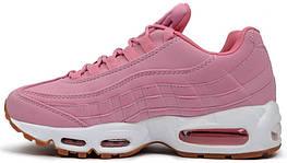 Женские кроссовки Nike Air Max 95 Pink Oxford, реплика, супер качество!