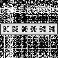 Шестерная горизонтальная рамка VIKO Meridian Белый (90979026)