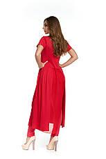 Летняя женская молодежная туника Лайон красная, фото 3