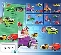 TZ 2715 Обложка для дневников и тетрадей 350*212мм TUKZAR