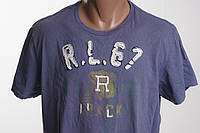 Polo Ralph Lauren футболка мужская  размер  M L   ПОГ 55 см  б/у