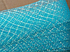 Регилин 4 см  ( 23 метра ) голубой  с люриксом  19126