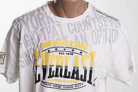 EVERLAST футболка мужская  размер L  ПОГ 56 см  б/у