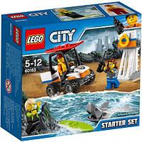 Lego City Береговая охрана: Набор для начинающих 60163