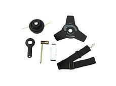Электротриммер-кусторез BauMaster GT-3515 (1500 Вт, диск/леска, С-образная рукоятка), фото 3