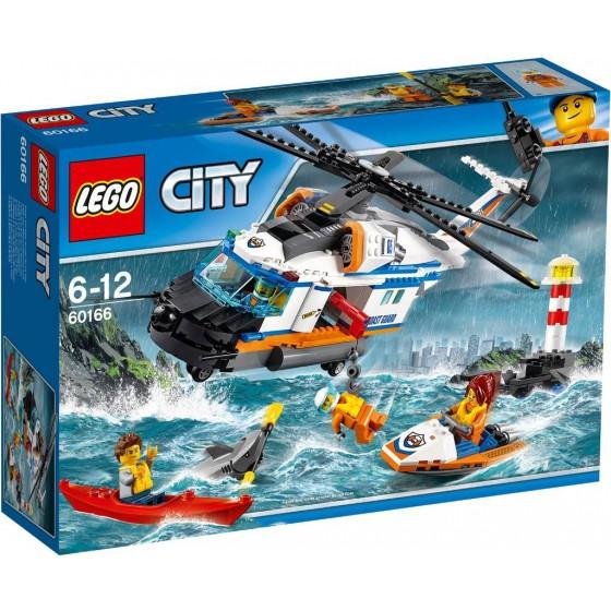 Lego City Сверхм ощный спасательный вертолёт 60166