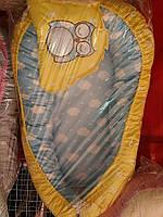 Гнёздышко ( позиционер, кокон)  Сова для новорожденных