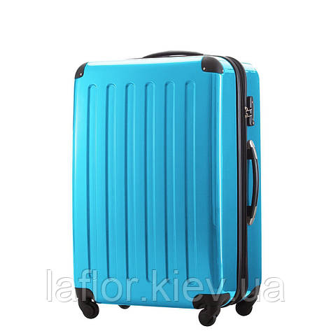 Большие чемоданы Hauptstadtkoffer maxi Alex голубой, фото 2