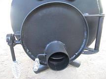 Канадская печь TORONTO Буллер тип 04 дверка со стеклом, фото 2