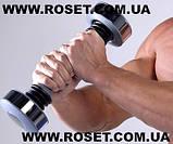 Спортивная гиря-гантель Shake Weight для мужчин, фото 4