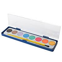 Краски акварельные с кисточкой FP10, 8 цветов
