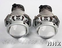 """Биксеноновые линзы Hella 5 New Зеркальная 3.0"""" D-series, фото 2"""