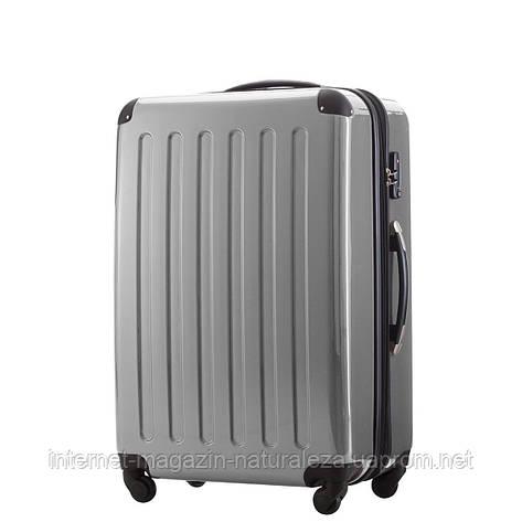 Большие чемоданы Hauptstadtkoffer maxi Alex серебряный, фото 2