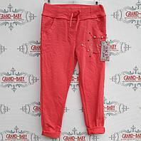 Трикотажные штаны  стильные   на девочку .Италия