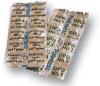 Запасные таблетки для тестера для измерения уровня содержания хлора  воды бассейна