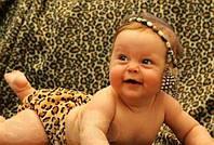 Подгузники многоразовые плюшевые с двойной резинкой с рождения