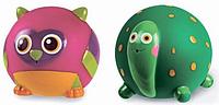 """Набор игрушек резиновых """"Сова + Черепашка"""""""