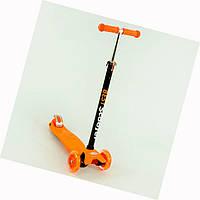 Самокат 466-113 Best Scooter оранжевый
