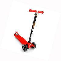 Самокат 466-113 Best Scooter красный свет колес