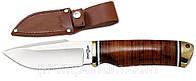 Нож нескладной 2170 XG (чехол кожа) MHR /05-31