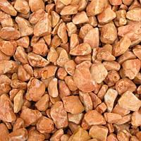 Мраморная галька коричневая 15-25 мм