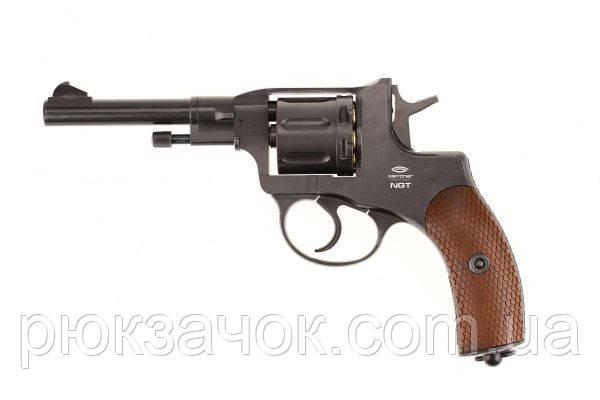Револьвер пневматический газобаллонный НАГАН GLETCHER (NGT)