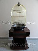 Круглая клетка для попугая, канарейки, амадина.70*40 см.Фото