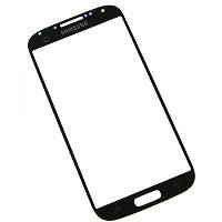 Стекло корпуса для Samsung i9500 Galaxy S4 black original