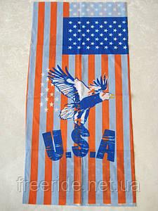 Летний бафф, buff, бесшовный шарф, повязка (#306)