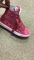 Детские замшевые ботиночки