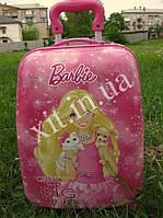 "Детский чемодан 16"" на колесах Барби"