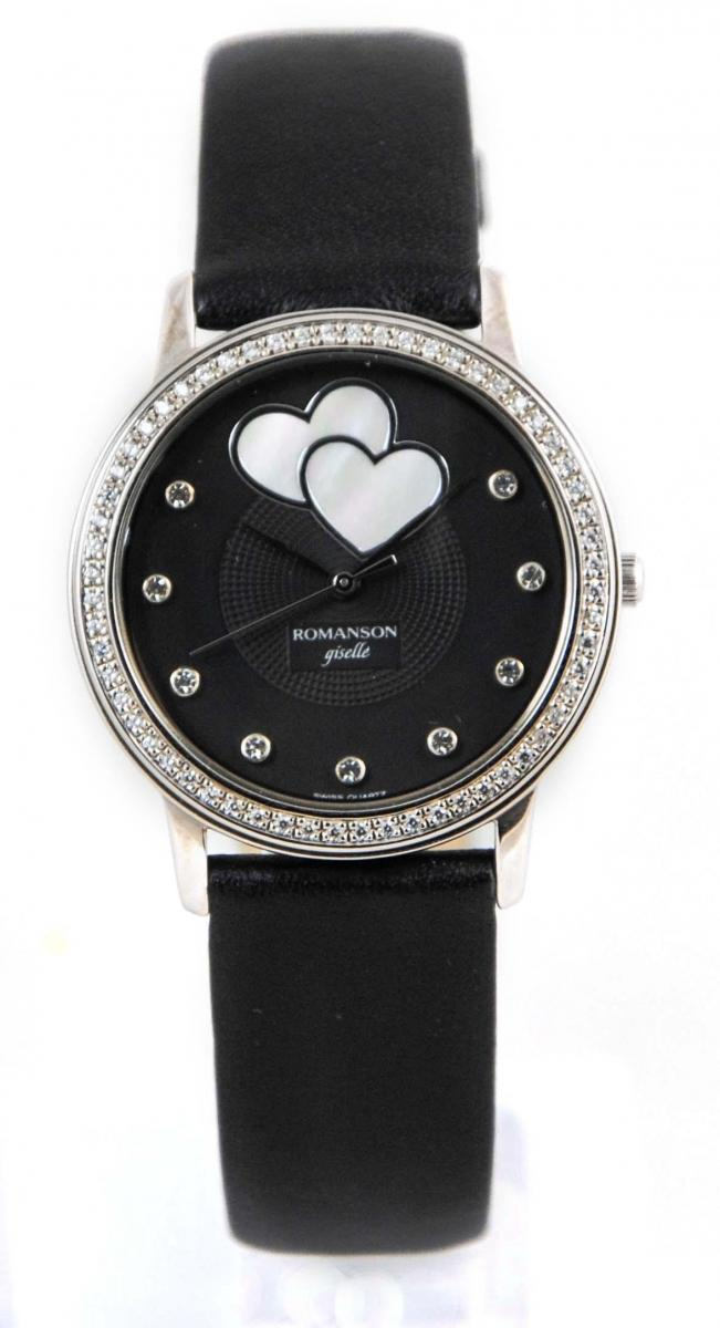 Часы Romanson RL8254QLWH BK