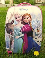 "Детский чемодан 16"" на колесах Холодное сердце"