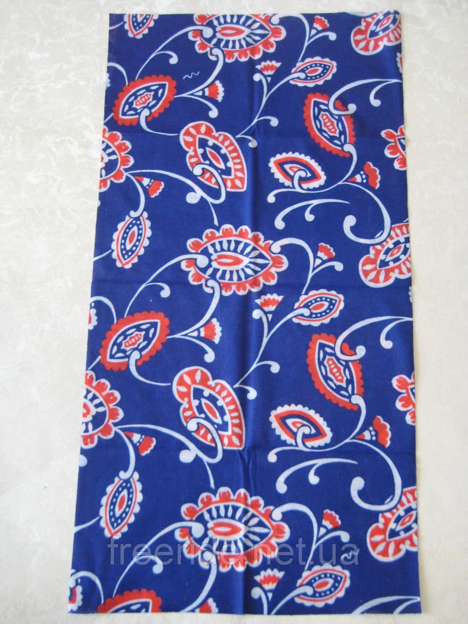 Летний бафф, buff, бесшовный шарф, повязка (#312)