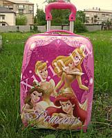 """Детский чемодан 16"""" на колесах Принцессы"""