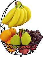 Корзина для фруктов с держателем для бананов