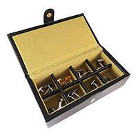 Коробка-органайзер для запонок