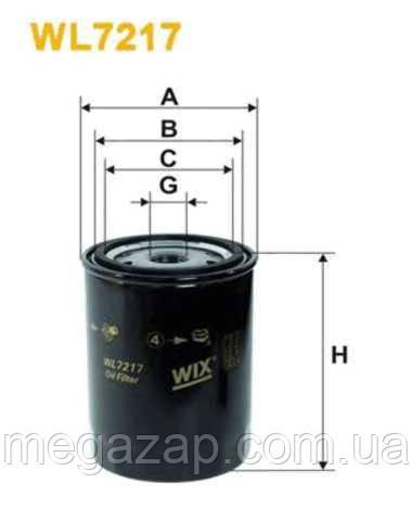 Фильтр масляный WIX WL7217