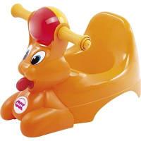 Детский горшок с музыкальной шкатулкой Spidy оранжевый (37829900/45)