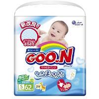 Трусики-подгузники GOO.N для активных детей 5-9 кг (размер S, унисекс, 62 шт) (853078)